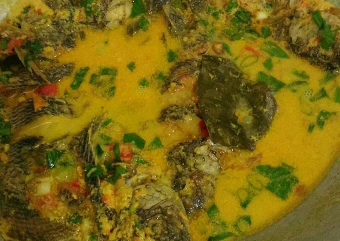 Resep: Mangut nila kuning