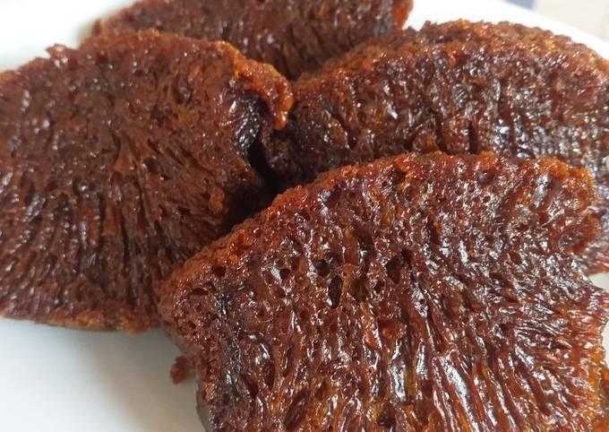 Resep: Karamel/sarang semut (ukuran gelas)