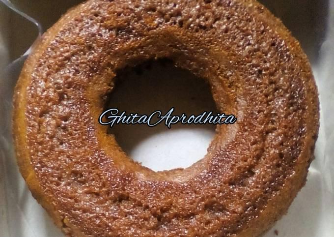 Resep Cake karamel / sarang semut takaran gelas no mixer anti gagal
