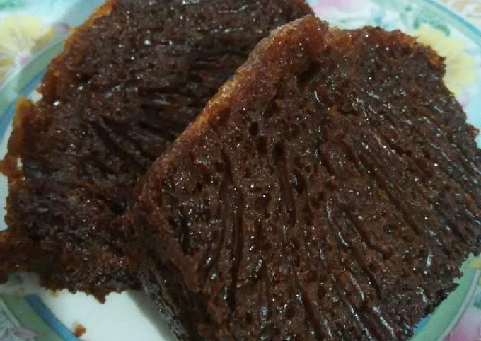 Resep: Sarang Semut (Cake Caramel) takaran kampung
