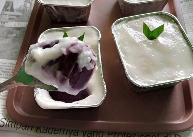 Resep: Lumpur surga ubi ungu