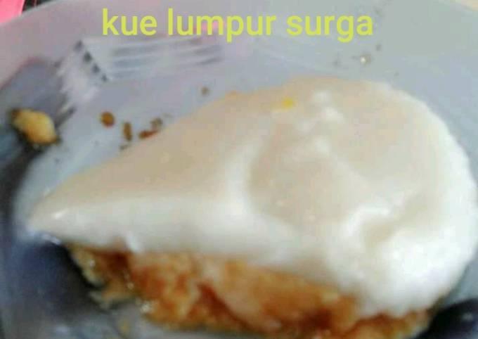 Resep Kue lumpur surga gula merah