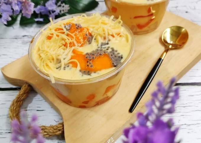 Resep: Mango milk cheese
