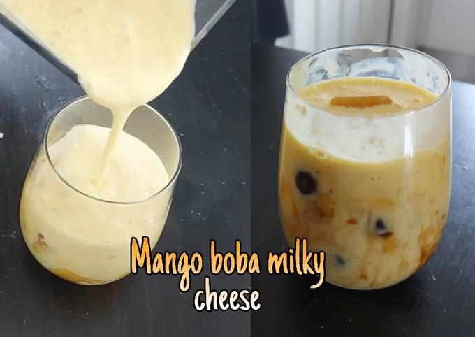 Resep: Mango boba milky cheese