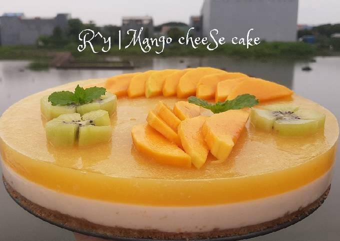 Resep Mango cheese cake