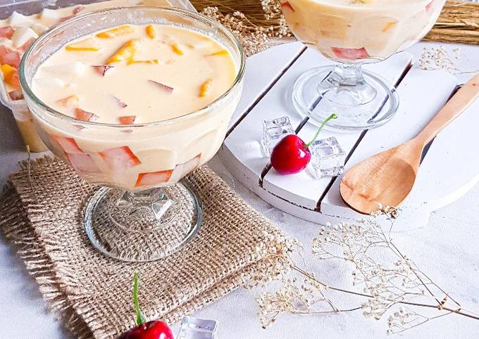 Resep: Creamy cheese mango