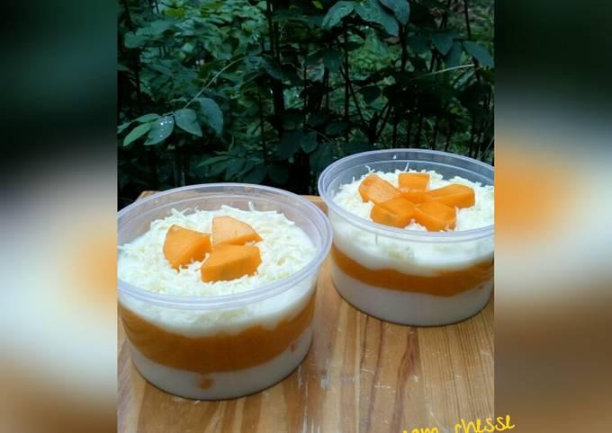 Resep: Mango cream cheese