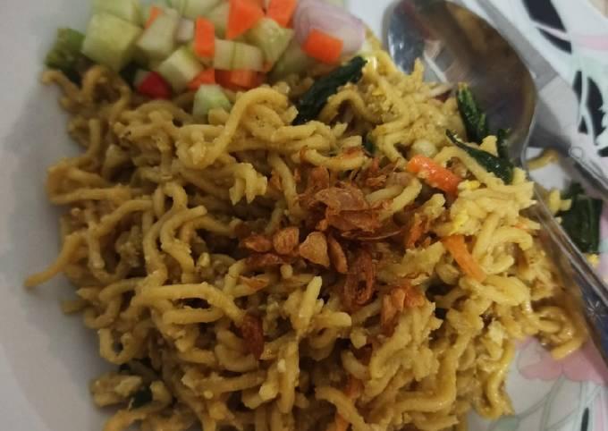 Resep Mi goreng jawa nyemeg (balita friendly)