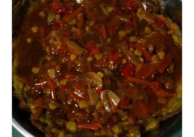 Resep Spaghetti goreng jawa