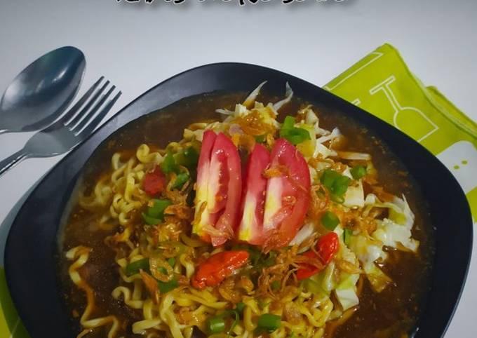 Resep: 318# mie ongklok khas wonosobo