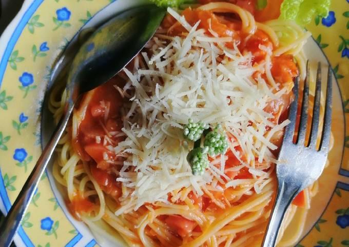 Resep: Spaghetti jawa