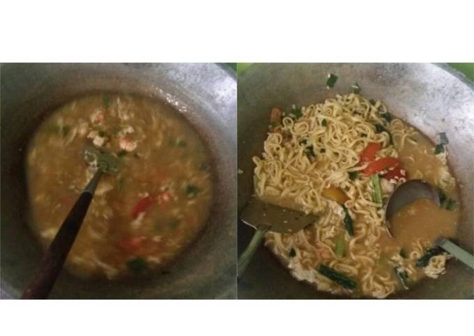 Resep: Mie godog jawa Kaldu udang+kepiting
