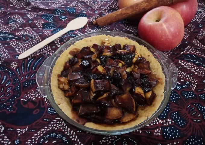 Resep Pie Vla Coklat Apel dengan Kulitnya #Gluten Free #Dairy Free