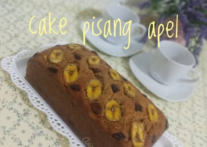 Resep: Cake pisang apel No Mixer, by Tintin Rayner