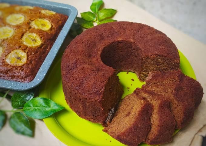 Resep Speculaas Banana Cake (No mixer)