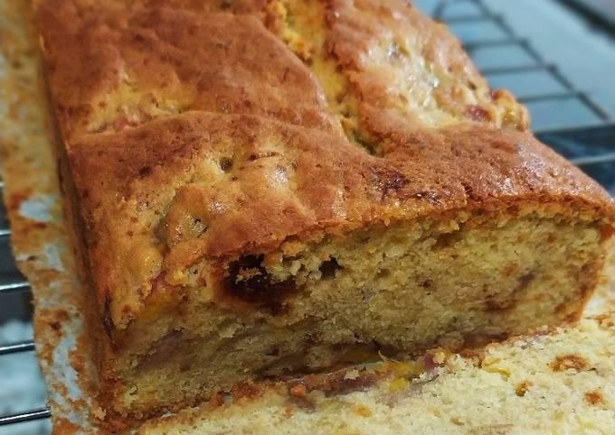 Resep Banana cake kurma & rempah