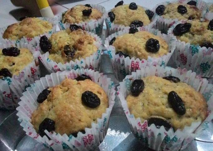 Resep: Banana muffin simple,favourite