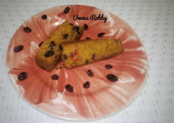 Resep: English fruit cake