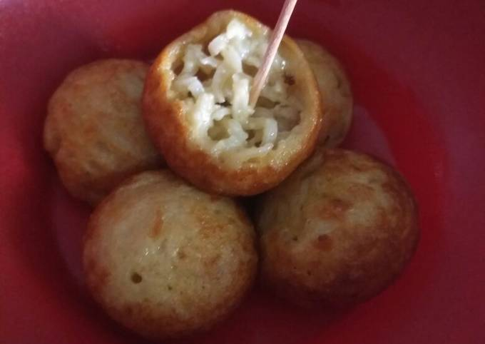 Resep Takoyaki mie simple