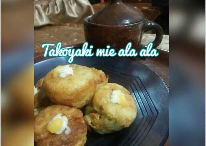 Resep: Takoyaki mie ala ala