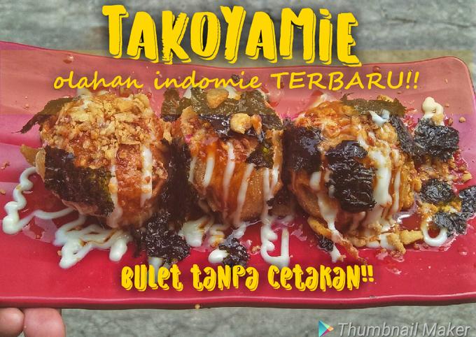 Takoyaki Indomie tanpa cetakan