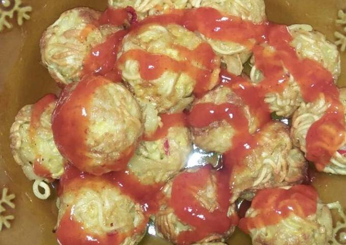 Resep: Takoyaki mie