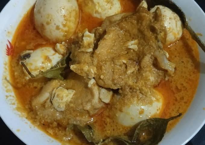 Ayam toppalada khas makassar