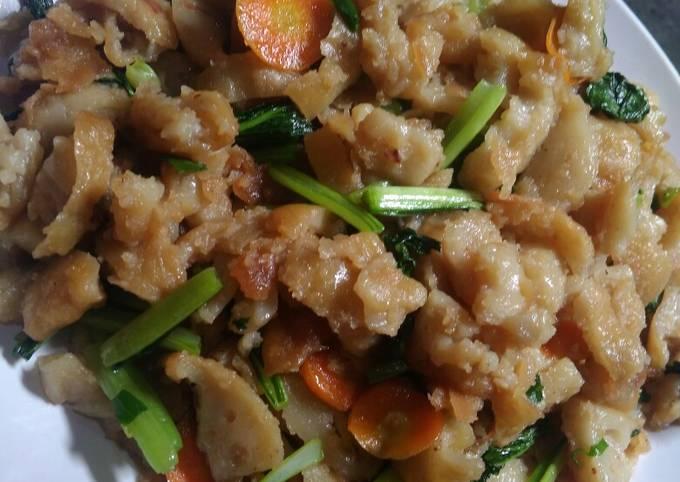 Resep: Capcay goreng