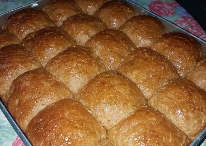 Roti Ampas terigu manis gurih dan lembut
