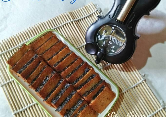 Resep Ikan Asin Vegetarian (dari ampas tahu)