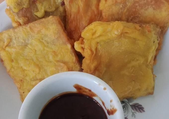 Resep Ampas Tahu /menjes goreng kemul
