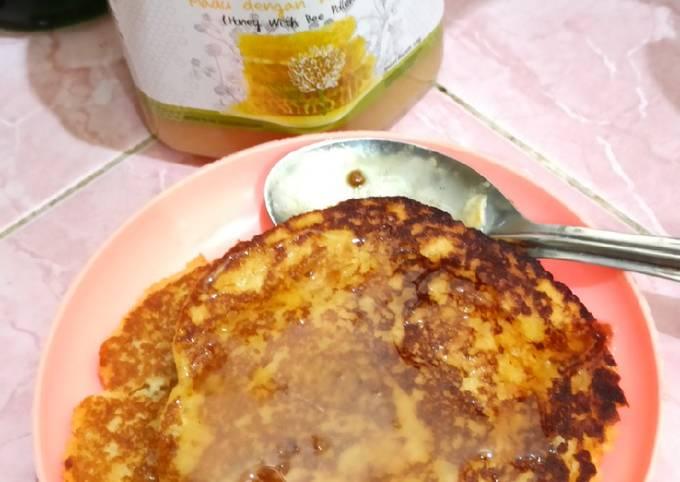 Resep Pancake (memanfaatkan ampas kedelai)