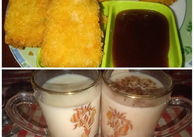 Resep: Nugget Ampas kedelai & susu kedelai homemade
