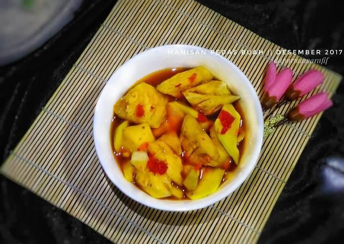 Resep: Manisan pedas buah (asam, manis, segar)