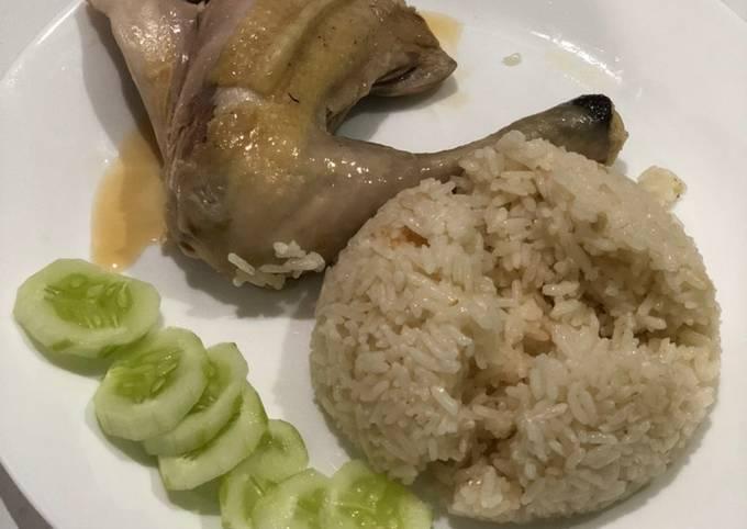 Resep Ayam rebus Hainan