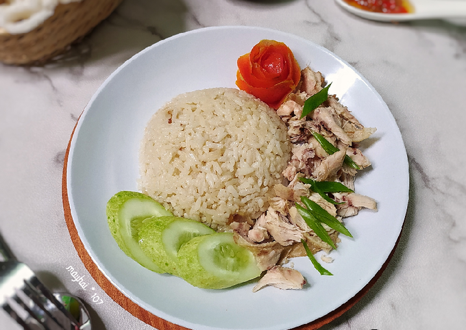 Resep: Nasi ayam hainan
