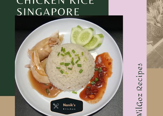 Nasi Ayam Hainan Singapore ala William Gozali