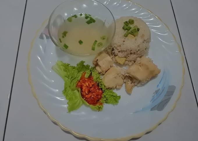 Resep: Ayam Hainan (Rice cooker)