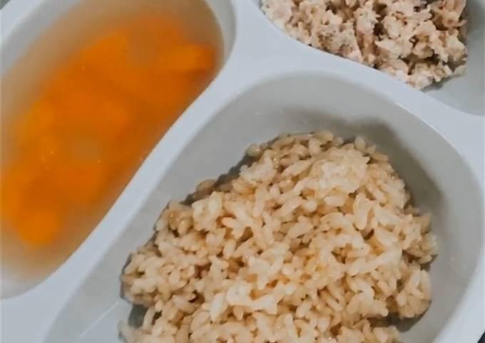 Resep: Nasi hainam ayam rumahan  (untuk anak 1 tahun ke atas)