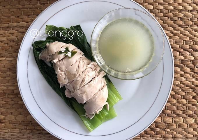 Resep Hainan dada ayam untuk diet 💛