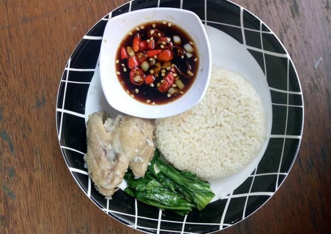Resep Nasi ayam hainam rice cooker