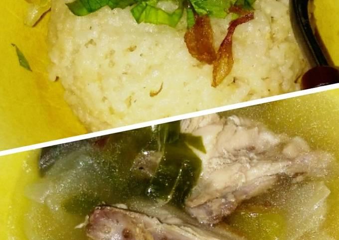 Resep: Nasi hainan sup ayam#PR_BukanNasiBiasa