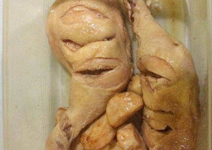 Resep Ayam hainan ala anak kos