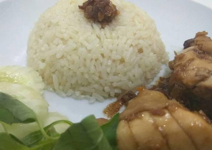 Resep: Nasi ayam Hainam