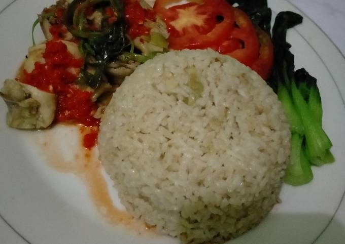 Resep Hainanese chicken rice
