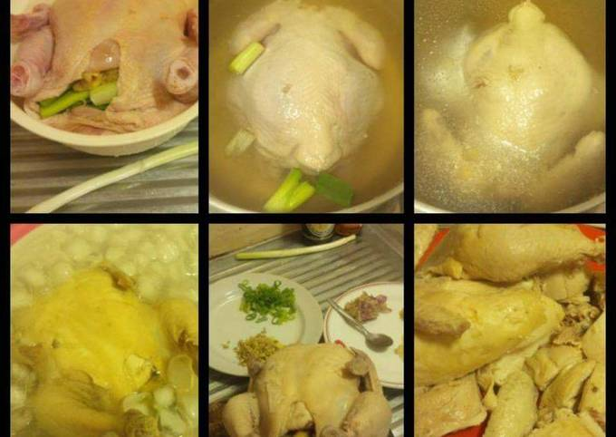 Resep: 14. Hainan chicken rice