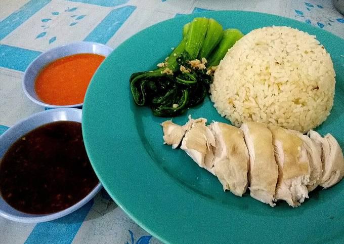 Resep Hainan Chicken Rice spesial ala resto
