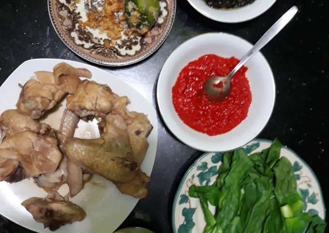 Resep: Nasi ayam Hainam Singapore
