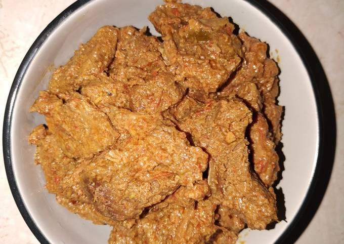 Resep: Rendang daging sapi
