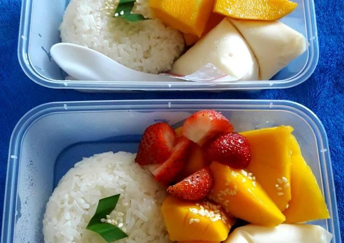 Resep Ketan Mangga/Mango sticky rice